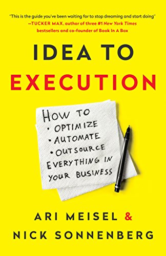 Book: Idea to Execution